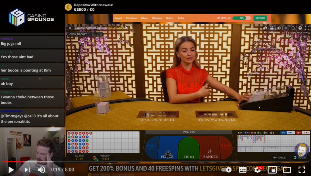 ALL IN OR NOTHING – Baccarat Live เซ็กซี่บาคาร่า